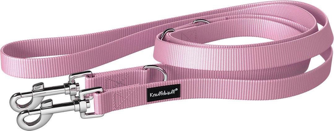 Knuffelwuff Hundeleine verstellbar, Führleine Active 1 5cm Pink 13949-011