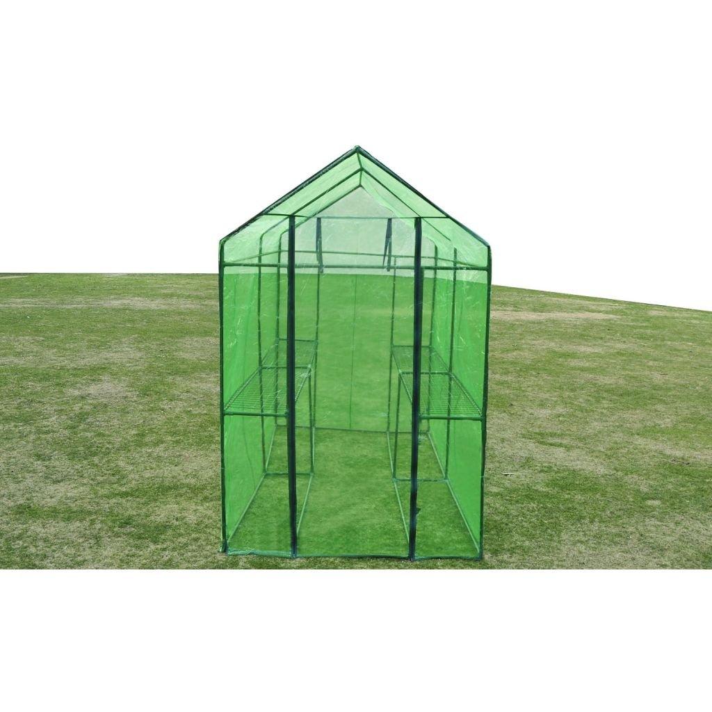 vidaXL Serre Acier XL Serre Extérieur de Jardin Abri Plantes Maison Terrasse 12317