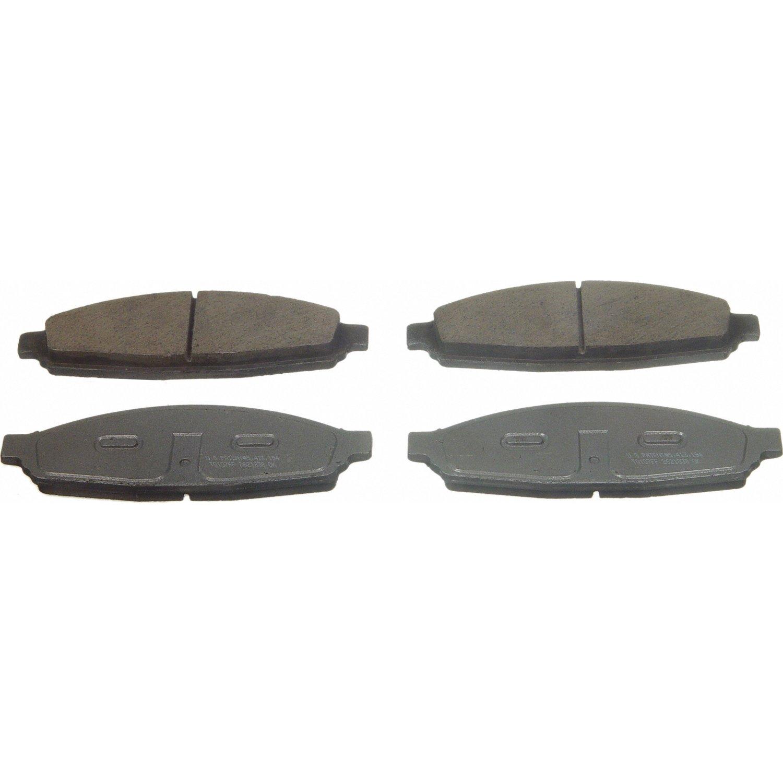 Wagner ThermoQuiet QC953 Ceramic Disc Pad Set Front