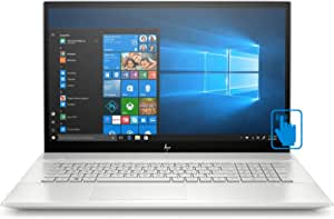 "HP Envy - 17t Home and Business Laptop (Intel i7-10510U 4-Core, 32GB RAM, 1TB m.2 SATA SSD + 2TB 25 HDD, 17.3"" Touch Full HD (1920x1080), GeForce MX250, Fingerprint, WiFi, Win 10 Home)"