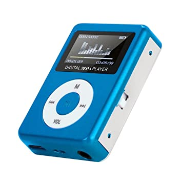 Winkey - Mini Reproductor de MP3 USB Mini MP3 con Pantalla ...
