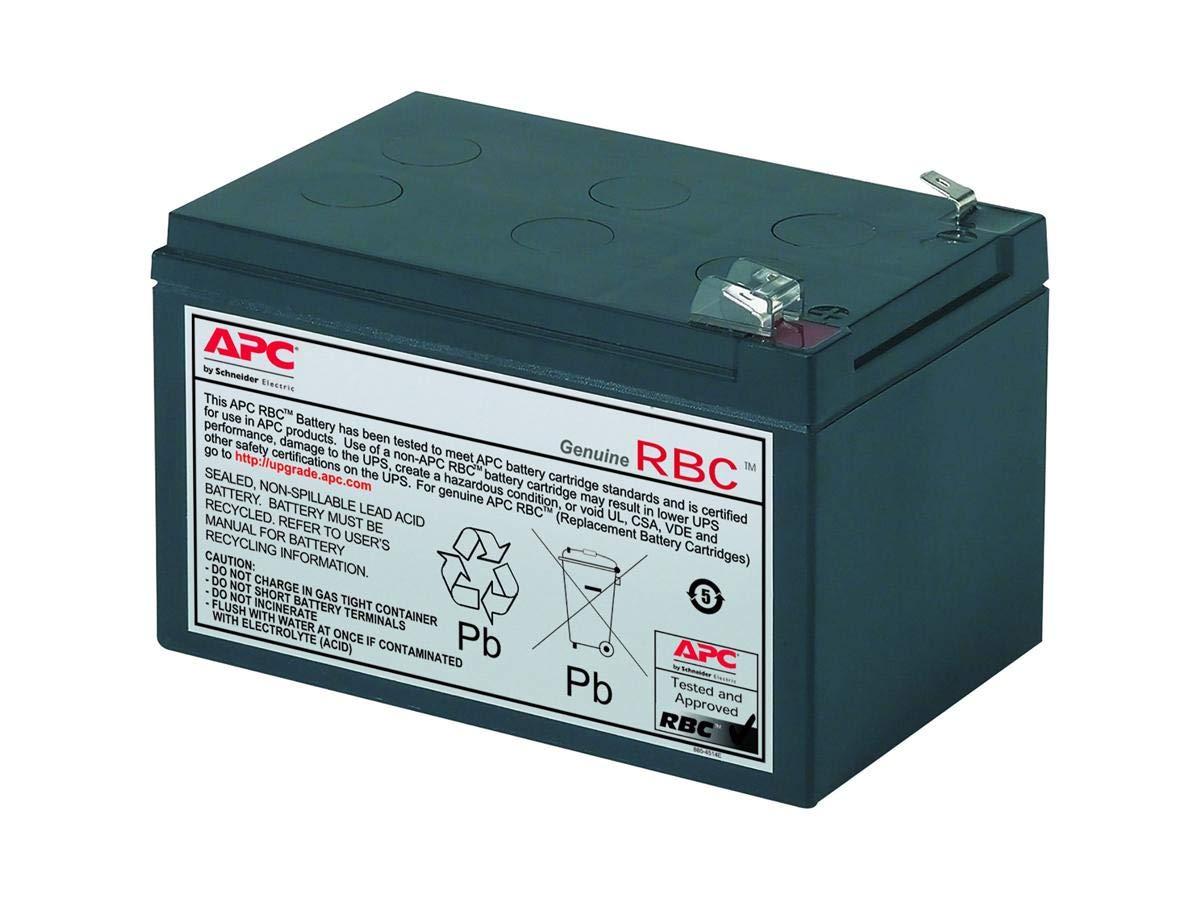 APC UPS Battery Replacement for APC Back-UPS Models SC620, SU620NET (RBC4) by APC