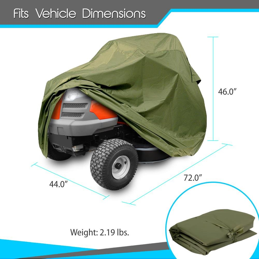 PyleSports PCVLTR11 Armor Shield Home /& Garden Universal Lawn Tractor Cover