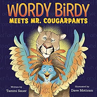 Book Cover: Wordy Birdy Meets Mr. Cougarpants