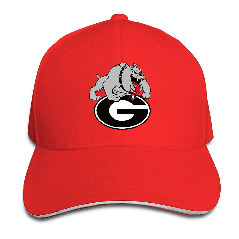 Georgetown Hoyas Sandwich Cap Size: Adjustable Caps.