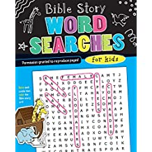 Bible Story Word Searches for Kids (I'm Learning the Bible Activity Book)