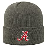 Top of the World Men's Cuffed Knit Hat Icon, Alabama Crimson Tide Charcoal, Adjustable