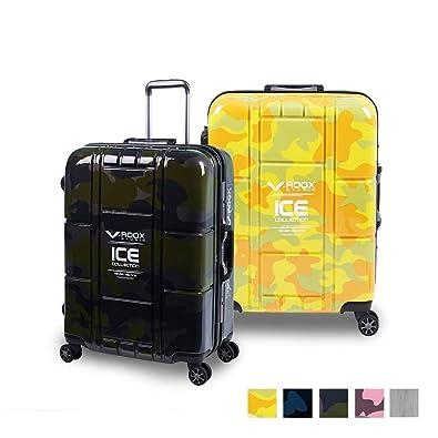 645b58fe6c Amazon   A.L.I(アジア・ラゲージ) TSAロック搭載 V-ROOX キャリーケース 59188 (イエローカモフラージュ)    A.L.I(エー・エル・アイ)   スーツケース