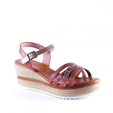 Chaussures Porronet marron Vintage femme FJa3A5
