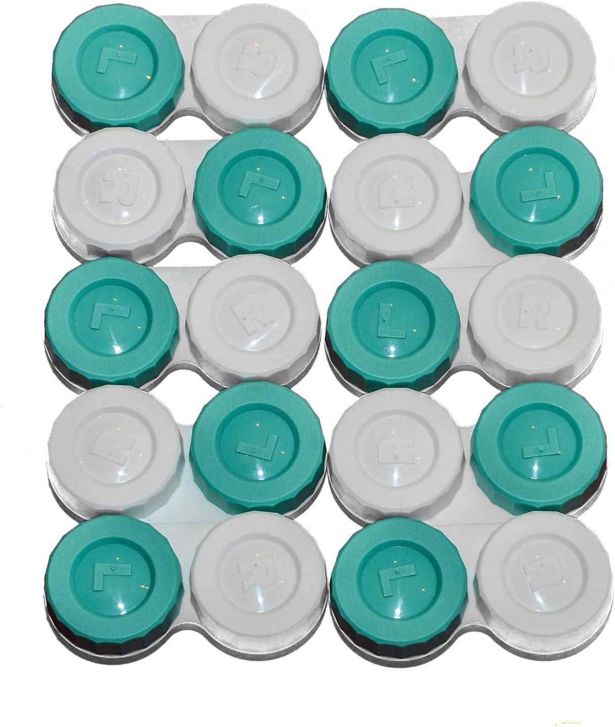 Sports Vision - Fundas para lentes de contacto, 10 unidades, diseño plano de rosca, fabricado en el Reino Unido, marca R & L: Amazon.es: Deportes y aire libre