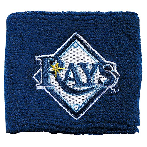Franklin Sports MLB Tampa Bay Rays Team Wristbands (Clothes Bay Tampa Devil Rays)