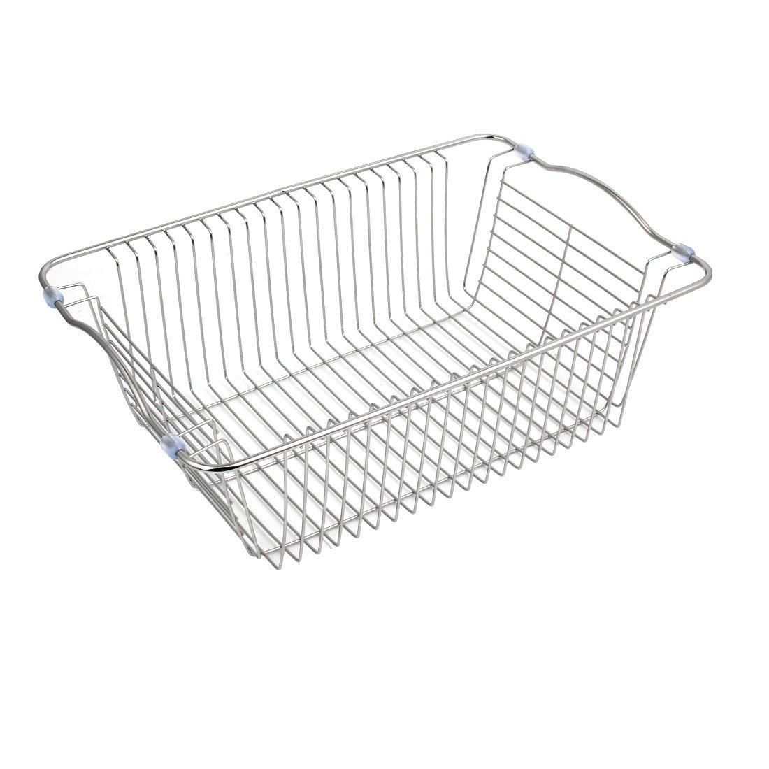 uxcell Kitchen Rack Drainer Storage Holder Stand Sink Caddy 35cmx23cmx12cm by uxcell