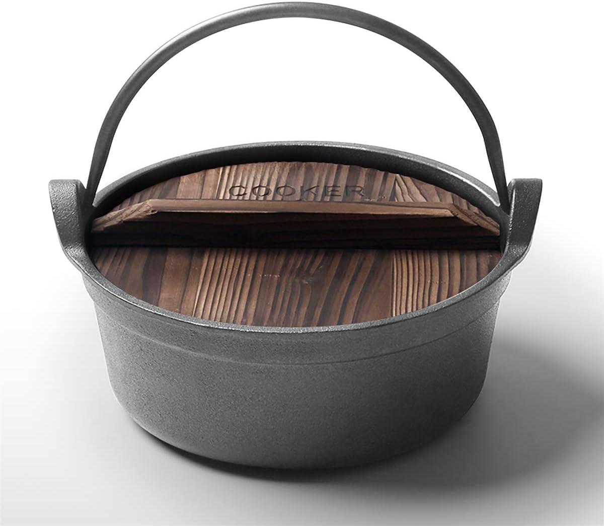 Cooker King - Utensilios de cocina (hierro fundido) Dutch Oven