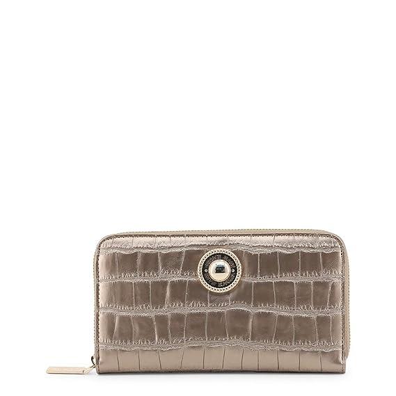 7c97a19eb9451 Versace Jeans Women Wallet Brown Genuine Designer Wallet: Amazon.co ...