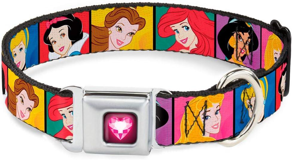 Buckle-Down Seatbelt Buckle Dog Ranking TOP14 Collar Max 70% OFF Blocks Princess Disney -