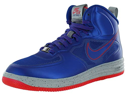 Nike Lunar Force 1 Fuse High Game Royal Siren Red