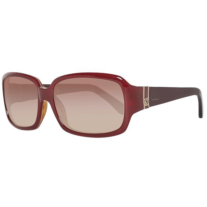 Timberland TB2116-5671F, Gafas de Sol para Mujer, Bordeaux/Gradient Brown,