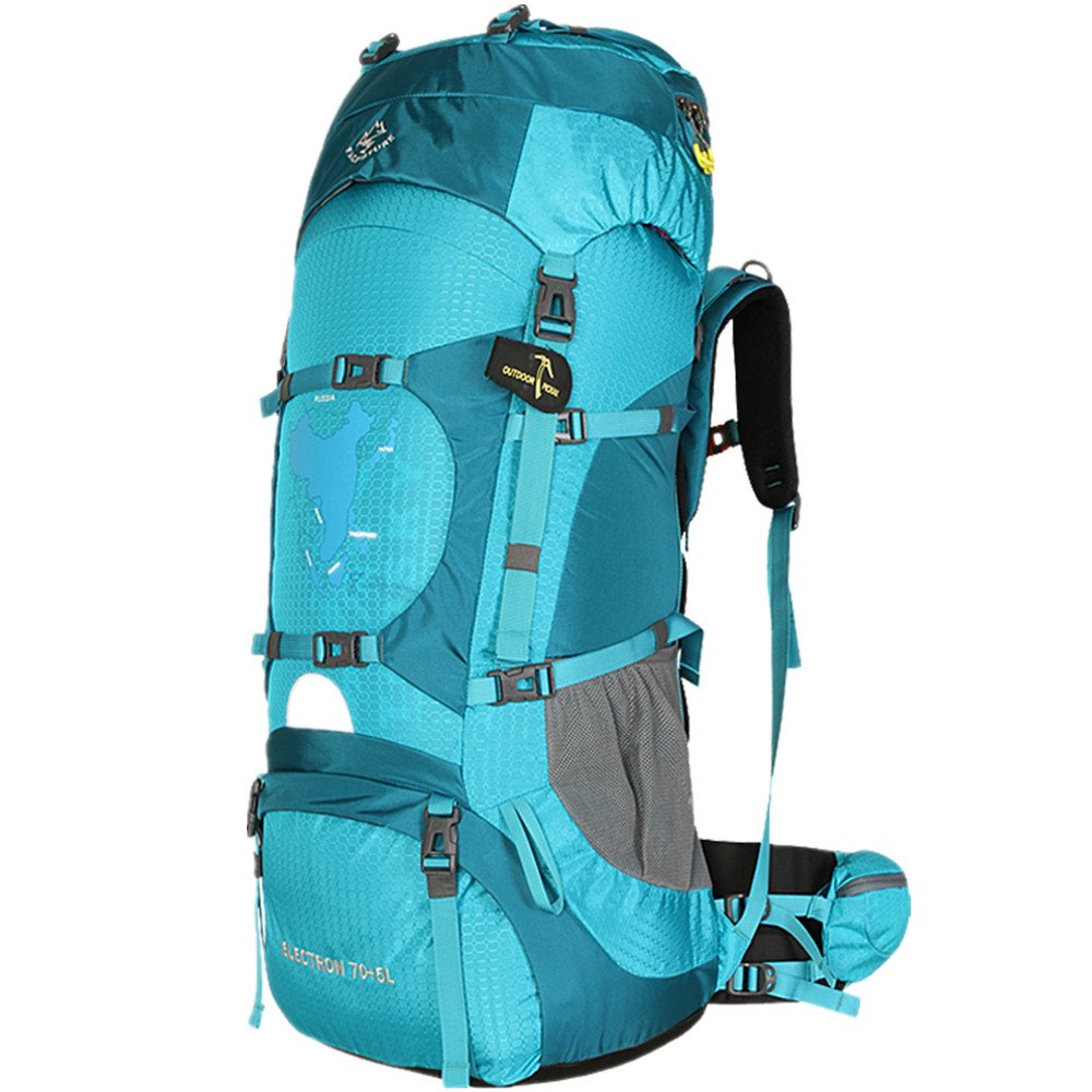 86bcb51a35 TOPSKY Outdoor Sports Waterproof Hiking Climbing Camping Mountaineering  Internal Frame Backpack 70L Unisex Large Trekking Travel ...