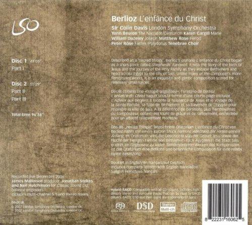 Berlioz: L'enfance du Christ ~ Davis