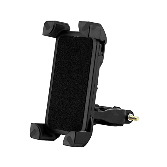 Universal 360 Rotating Bicycle Phone Holder Motorcycle Handlebar Clip Stand Mount Smart Mobile Cellphone Bracket Bicycle Rack
