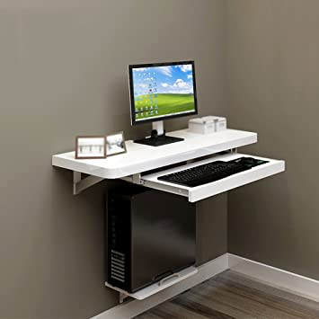Amazon De Desk Xiaolin Wandmontierter Schreibtisch Schlafzimmer