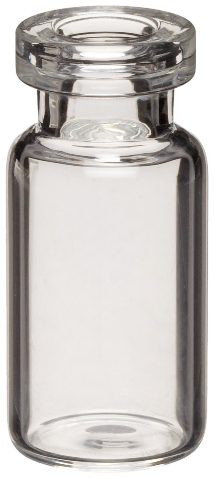 Wheaton 223696 Borosilicate Glass 10mL Serum Tubing Vial, 13mm ID x 20mm OD Mouth, Amber (Case of 144)
