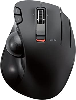 Elecom M-XT3DRBK Wireless Trackball Mouse