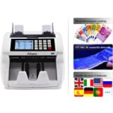 Aibecy Bill Counter Multi-Currency Mixed Denomination Count Automatic Counting Machine LCD Display with UV MG IR Counterfeit Detector Value Image Shows Usage and Common Problems