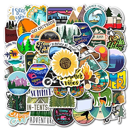 🥇 Laptop Stickers Pack Outdoor Style VSCO Stickers 50PCS