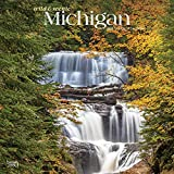 Michigan Wild & Scenic 2020 12 x 12 Inch Monthly Square Wall Calendar, USA United States of America Midwest State Wilderness