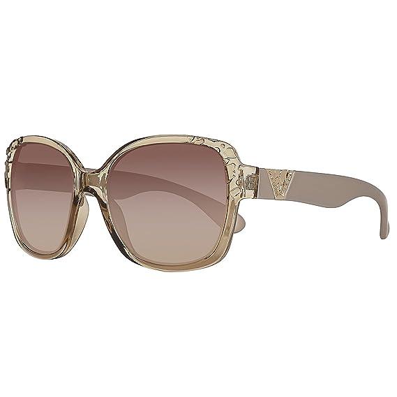 Guess GF0298-57F56 Gafas de sol, Beige, 56 para Mujer