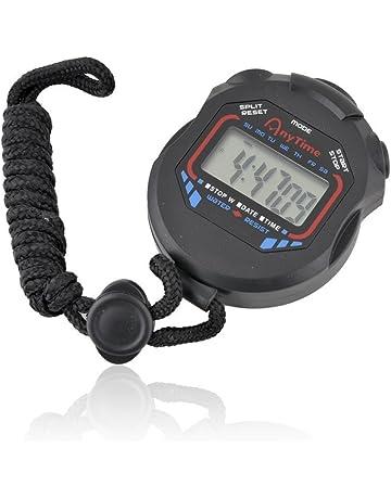 Cronometro corsa Fischietto portatile digitale cronometro Cronometro Contatore orario Sveglia Sport Sport e viaggi