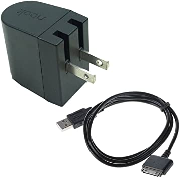 Replace Wall Power Charger+USB Cord For Barnes /& Noble Nook HD 7 Tablet 8GB 16GB