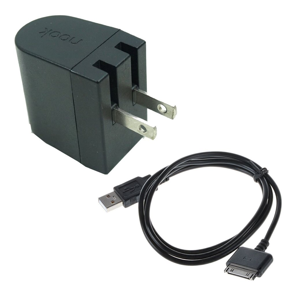 """Barnes & Noble Nook HD 7"""" Charging Cable, Barnes Charger Nook Cable,Wall Power Charger Adapter Plug for Nook Hd 9"""" Tablet 8GB 16GB 32GB"""
