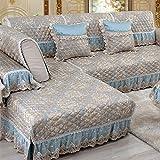 Sofa Sets/Cloth All-inclusive/European Style Sofa Pad/Four Seasons General Sofa Cover Towel/Wood Sofa Towel-A 80x210cm(31x83inch)