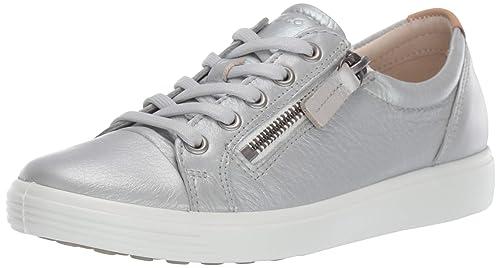 Reduzierte Ecco Schuhe Turnschuhe Damen Grau Ecco Soft 7 W