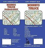 Modesto / Turlock / Stanislaus County, California Street Map