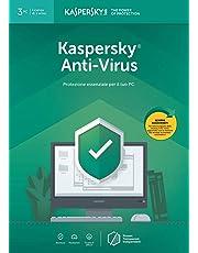Kaspersky Anti Virus 2019   3 Dispositivi   1 Anno