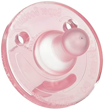 Avent BPA Free Soothie Pacifier 6 Pack - Pink - 3+ Months