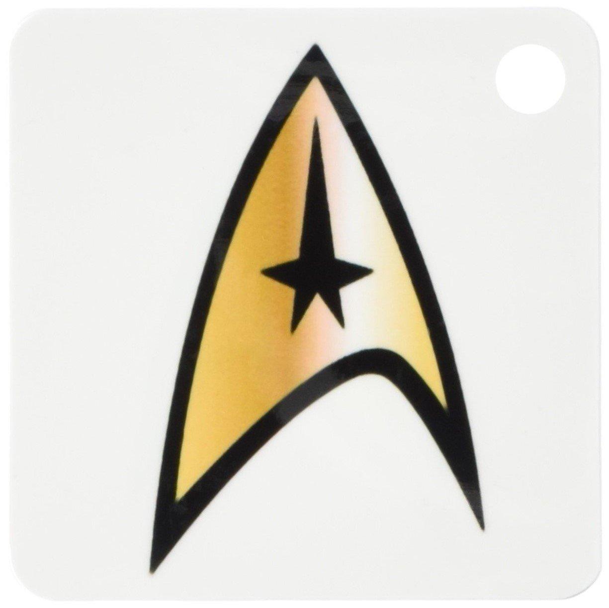 3dRose 8 x 8 x 0,25 emblemas de Star Trek. Enterprise ...
