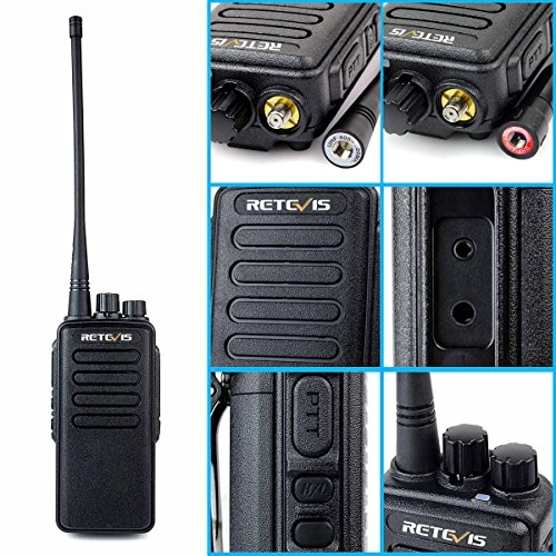 Retevis RT1 Way Radio VOX and 2 Pin Covert Acoustic Earpiece