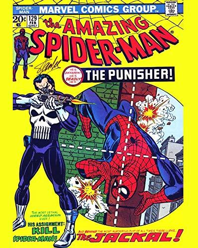 Stan Lee - Reprint 8x10 inch Photograph - MARVEL Avengers Spiderman
