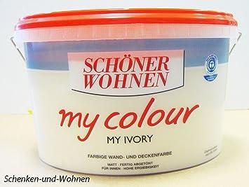 SCHÖNER WOHNEN FARBE Innenfarbe My Color 10,0L my ivory 10 l, my ...