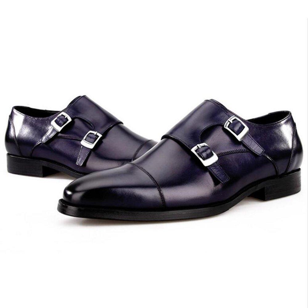 LXMEI Herren High-End-Geschäft-Schuhe - Sommer-Kleid-Schuhe - Schnalle Fashion Parties Schuhe Größe 6-11 Nehmen