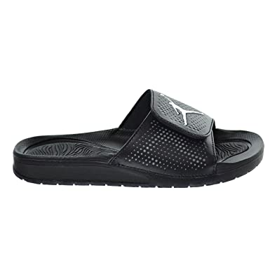 04940a947bf8 Jordan Hydro 5 BG Big Kid s Sandals Black White Cool Grey 820258-010 ...