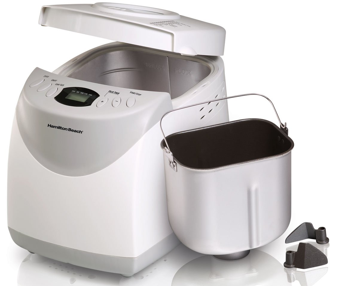 Hamilton Beach 29881 HomeBaker 2 Pound Automatic Breadmaker Gluten Free Setting by Hamilton Beach