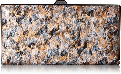 Lodis Roar RFID Quinn Clutch Wallet (Toffee) by Lodis