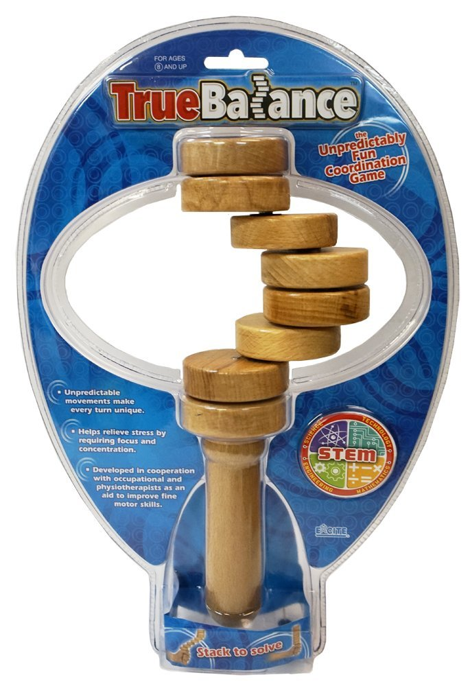 TrueBalance Educational STEM Toy for Adults Boys and Girls   Coordination Game That Improves Fine Motor Skills   Perfect Autism Toy Original