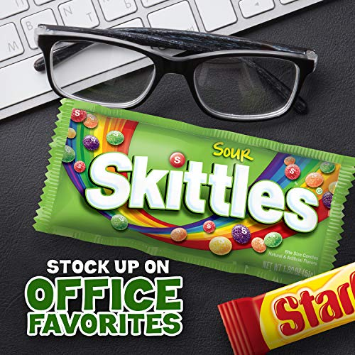 Large Product Image of SKITTLES & STARBURST Christmas Candy Full Size Variety Mix 18-Count Box