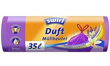 Swirl aroma - bolsas de basura vainilla lavanda/anti-olor ...